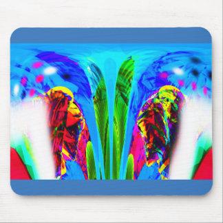 Alien lifeform mouse pad