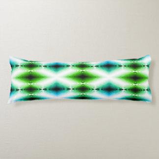 Alien Light Beam Bright Blue Green Teleport Future Body Pillow
