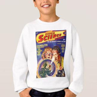 Alien Lizard in A Globe Sweatshirt