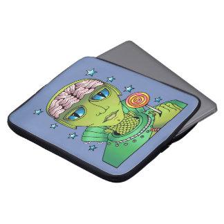 Alien Lollipop Laptop Sleeve