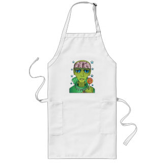 Alien Lollipop Long Apron