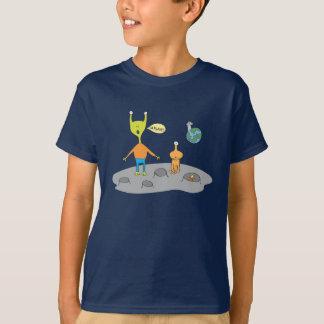 Alien Lunar Landscape t-shirt