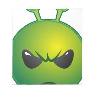 alien mad notepad