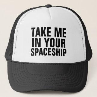 Alien Magnet Trucker Hat