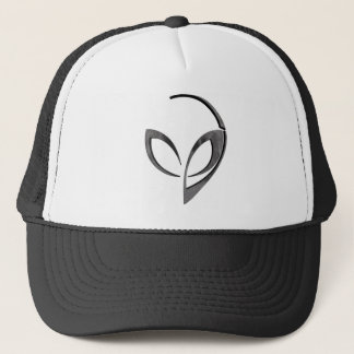 "Alien Mascot in ""Moon"" Trucker Hat"