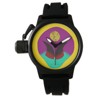 alien melt wrist watch for men and boys