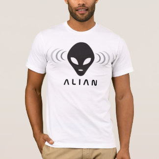 Alien Men's Basic American Apparel T-Shirt