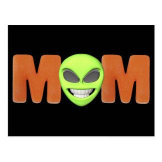Alien Mom Postcard