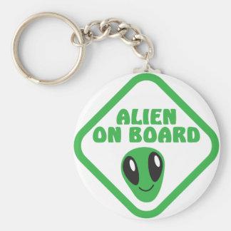 ALIEN on board! Keychains