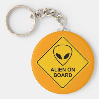ALIEN ON BOARD Keychain
