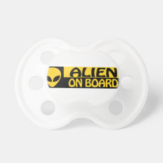 ALIEN ON BOARD PACIFIER