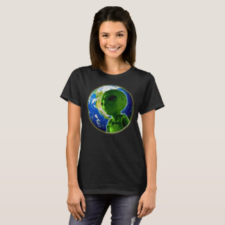 Alien on planet earth T-Shirt