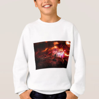 Alien On The Edge Sweatshirt
