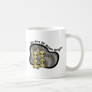 Alien Origin Coffee Mug