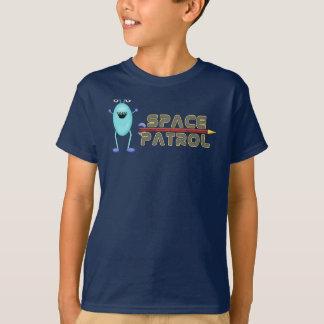 Alien Outer Space Rocket Design Print Art T-Shirt