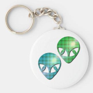 Alien Pair Keychain