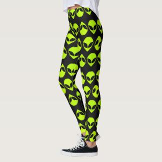 Alien Pattern Leggings