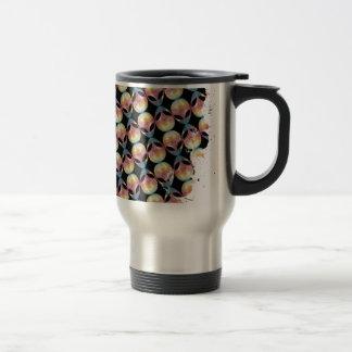 Alien Pattern Travel Mug