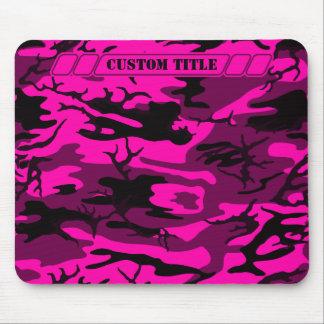 Alien Pink Camo Mousepad w/ Custom Title
