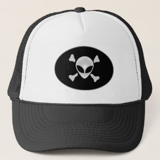 Alien Pirate The Intruder Trucker Hat