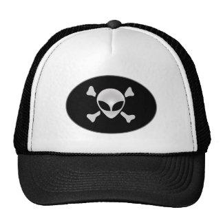 Alien Pirate The Intruder Trucker Hat