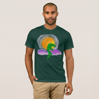 ALIEN PLANET MOON STALKER ART PRINT FOR SHIRT