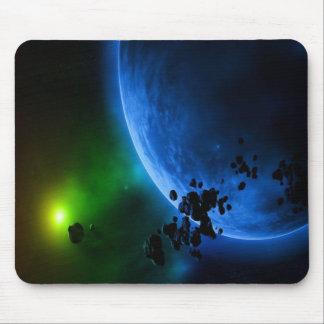 Alien Planets Mouse Pads