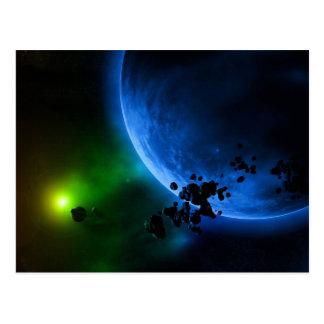 Alien Planets Postcard
