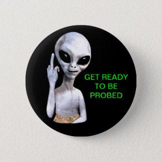 Alien Probe 2 Inch Round Button