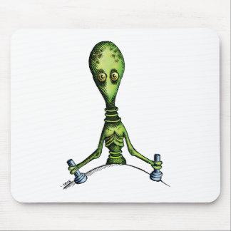 Alien Ride Mouse Pads