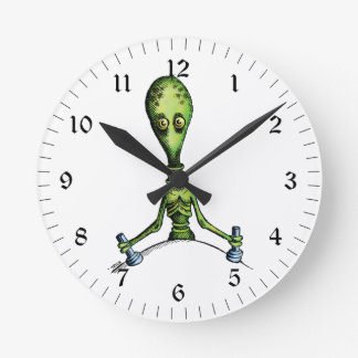 Alien Ride Wall Clock