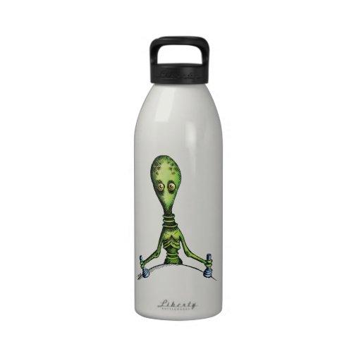 Alien Ride Water Bottles