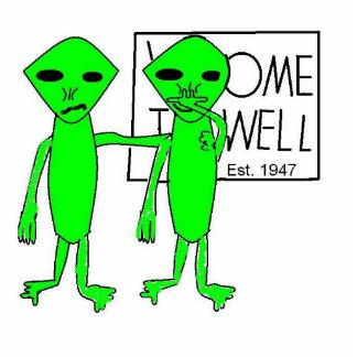 Alien Road Trip Acrylic Cut Outs