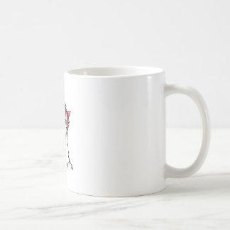 Alien Robot Hand Draw Illustration Classic White Coffee Mug