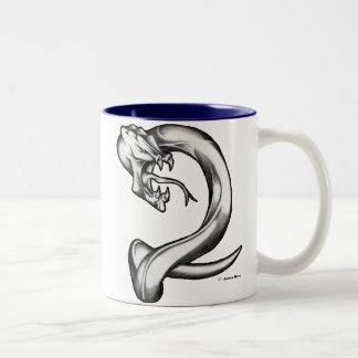 Alien Serpent Two-Tone Coffee Mug