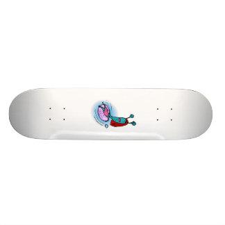 Alien Sister Relaxing in inner tube Skateboard Deck