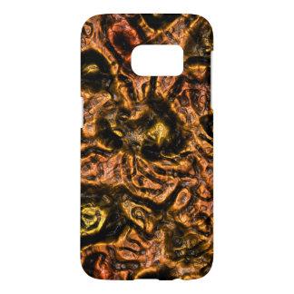 Alien Skin Orange Samsung Galaxy S7 Case