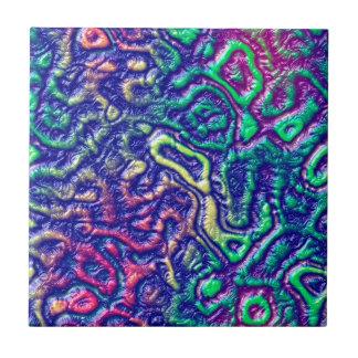 Alien skin tile