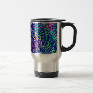 Alien skin travel mug
