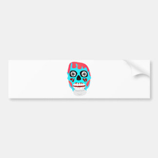 Alien Skull Bumper Sticker