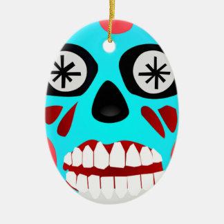 Alien Skull Ceramic Ornament