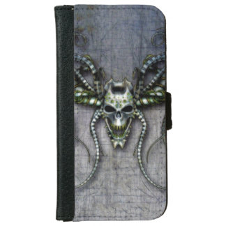 Alien Skull iPhone 6 Wallet Case