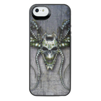 Alien Skull iPhone SE/5/5s Battery Case