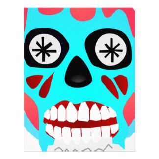 Alien Skull Letterhead