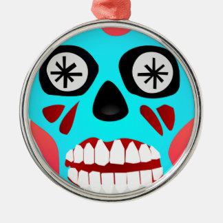 Alien Skull Metal Ornament