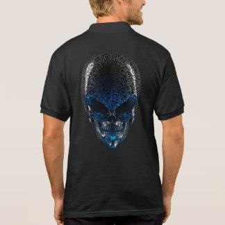 Alien Skull Polo Shirt