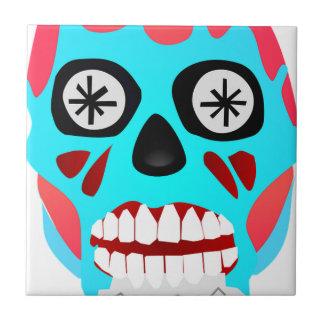 Alien Skull Tile