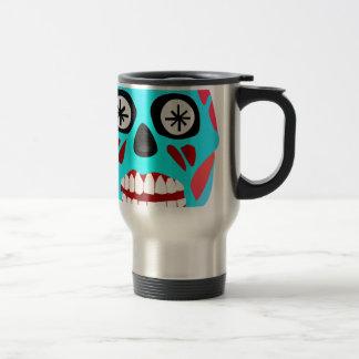 Alien Skull Travel Mug