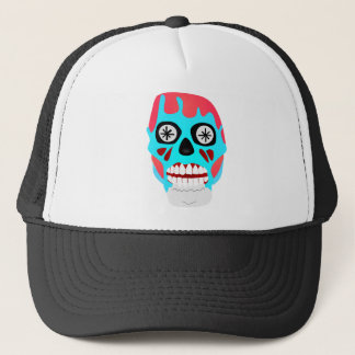 Alien Skull Trucker Hat