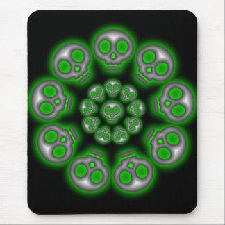 Alien Skulls mousepad